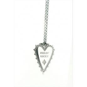 Acht große Herz Schmuck Halskette Feelin' Lucky mit borhie