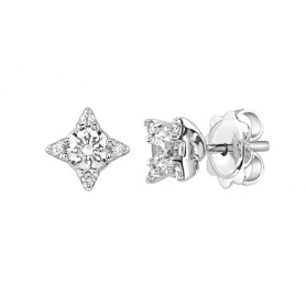 Luminous collection earrings Salvini in white gold and diamonds-20072931