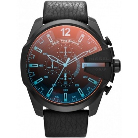 Diesel watch DZ4323 Chief iridescent glass skin Chrono-Mester
