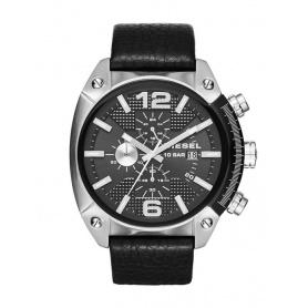 Diesel Uhr Chrono Stahl Überlauf und Haut-DZ4341