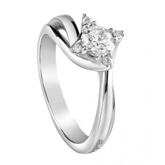 Ring white gold and Light brilliant collection-Salvini 20072880