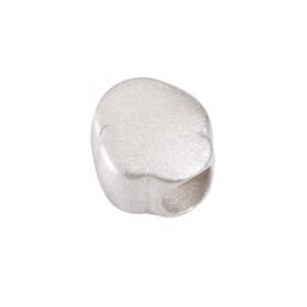 Beads Nuvoletta in argento satinato Civita by Queriot