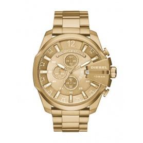 Diesel Herren Chronograph Uhr Golden-DZ4360 Mega Chief
