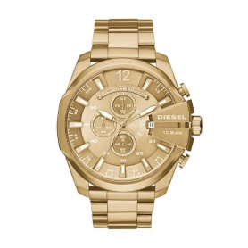 Diesel Men's Chronograph Watch Golden-DZ4360 Mega Chief