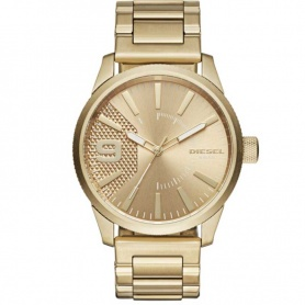 Diesel Men's gold watch-DZ1761