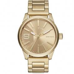 Diesel Men's gold watch-DZ1761