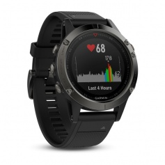 Garmin watch Fenix5 Gray Smartwatch Blak