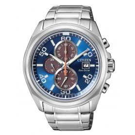 Citizen Eco Drive men Crono0630 Sundial-CA0630-80