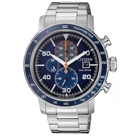 Citizen Eco Drive men Crono0640 Sundial-CA0640-86L