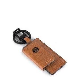Portachiavi con moschettone Piquadro linea P15PLUS - PC4164P15S/CU