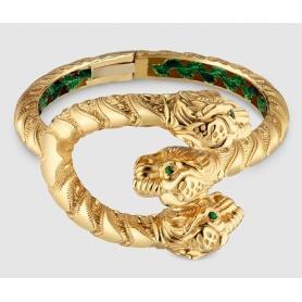 Gucci bracelet yellow gold and enamel and Dionysus Tsavorites-YBA458780001