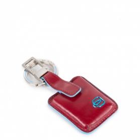 Portachiavi Piquadro Connequ Blue Square Rosso - AC3954B2/T/R