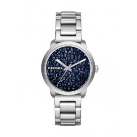 Diesel Womens swarovski crystal case Blue Flare-DZ5522