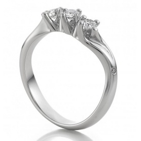White gold ring with Diamonds-1AJK0102G5140