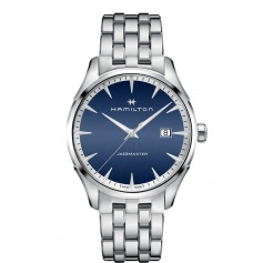 Hamilton Watch Jazzmaster Gent Quartz Blue-H32451141