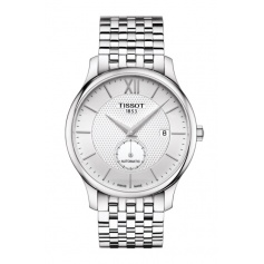 Tissot watch Tradition Small Second automatic steel-T0634281103800