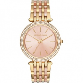 Michael Kors watch rose plated pave-MK3507 Us