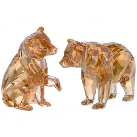 Swarovski Crystal pair of Bears-5236593