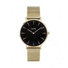 CLUSE unisex watch La Boheme plated-CLUCL18110