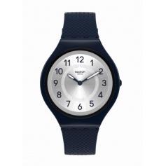Swatch watch Skinnight silicone line blu-SVUN101