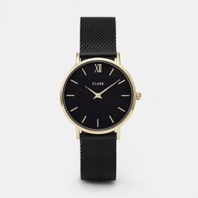 CLUSE orologio donna Minuit pelle cassa gold - CLUCL30026