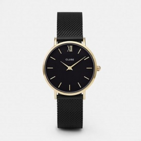 CLUSE watch CLUCL30026 case skin gold-Minuit