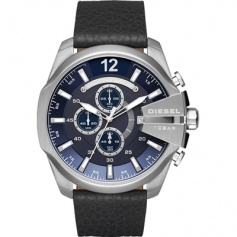 Diesel chronograph black and blue-line Mega Chief DZ4423