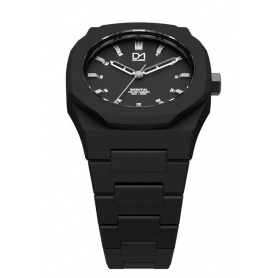 Watch Black octagonal ring-Milan line D1 Essential ES01