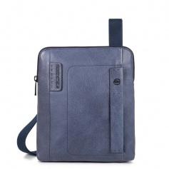 Piquadro bag with blue line magazine P15PLUS