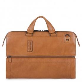 Piquadro folder Briefcase laptop bag leather P15PLUS line