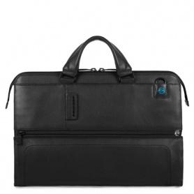 Piquadro folder Briefcase laptop bag black PULSE line