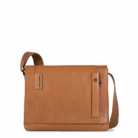 Laptop Messenger bag Leder P15PLUS-CA3348P15S Linie/CU Piquadro