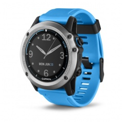 Garmin watch GPS Quatix3 Smartwatch for marine-blue