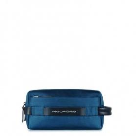 Piquadro Move2 PY3880M2/blau blaue Linie Kosmetiktasche
