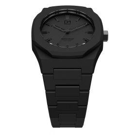 Watch Black octagonal ring-Milan line Monochrome D1 MO01