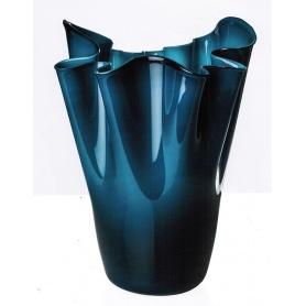 Calla Mintgrün und Opaline Vase Venini Maulwurf in limitierter Auflage