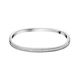 Bracciale Calvin Klein unisex Hook Bangle e swarovski - KJ06MD04020S