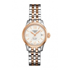 Ladies watch Le Locle Lady Automatic bicolor rosé stainless steel