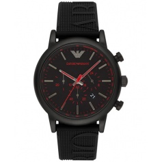Armani silicone chronograph watch man - AR11024