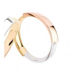 Fede Polello in tre colori di oro linea Momento - L2982UBGR