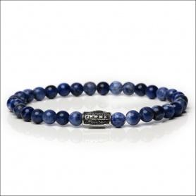Bracciale Gerba uomo donna blu elastico - SUMMER BLUE