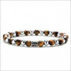 Tiger Gerber Women's Bracelet Elastic Eye Tiger Eye - ALEXANDER