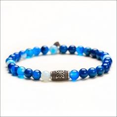 Turquoise elastic women's Tassel bracelet - HEAVEN