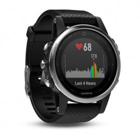 Orologio Garmin Fenix 5S GPS Smartwatch Silver Black con acciaio