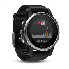 Garmin Fenix Watch 5S GPS Smartwatch Silver Black with steel