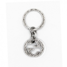 Portachiavi in argento Gucci linea Interlocking - YBF45530800100U