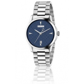 Orologio G-Timeless Quarzo Medium quadrante blu diamond - YA126402