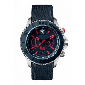 Orologio Ice BMW Motorsport crono acciaio - blu indici rossi