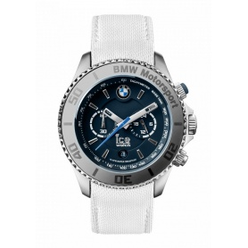 Ice Watch BMW Motorsport Crono steel case white and blue