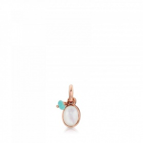 Tous Pendant in Golden Silver and Mother of Pearl - 712314600
